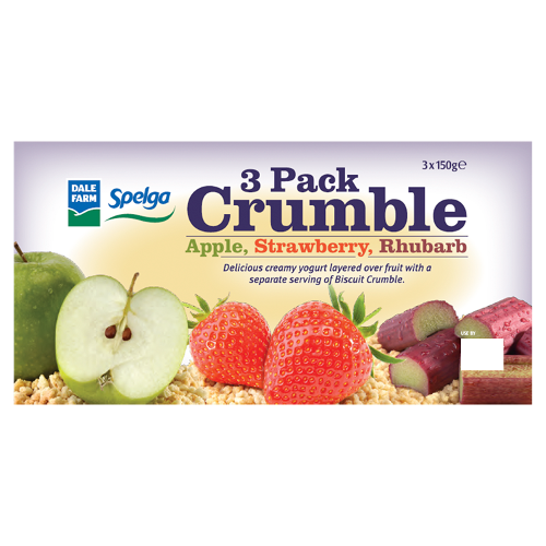 3 pack crumble