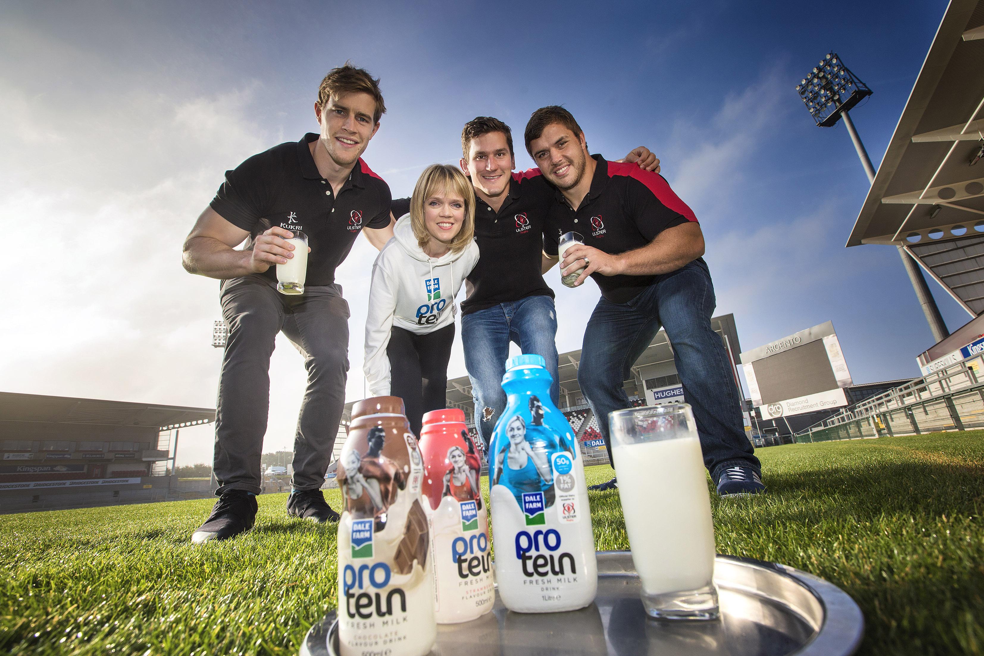 Dale Farm Protein Milk Launch 1