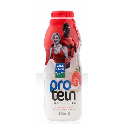 DF SBerry Protein Milk