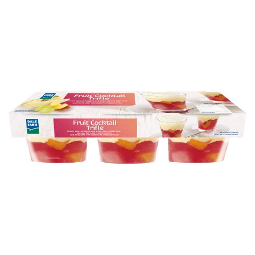 DF Fruit Cocktail Trifle