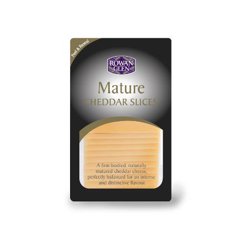 RG Mature Cheddar slices 160g